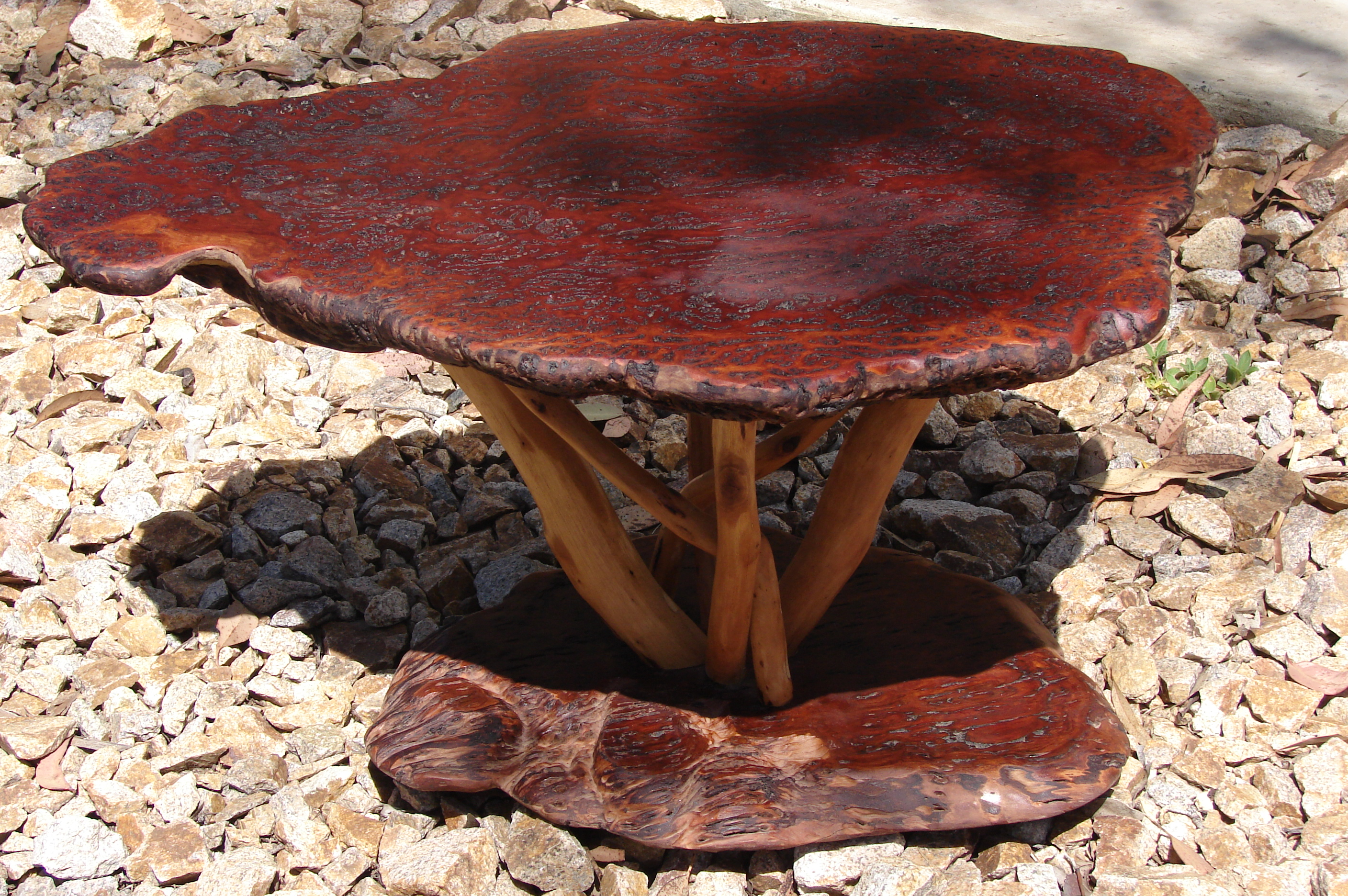 Superior Burl Coffee Table