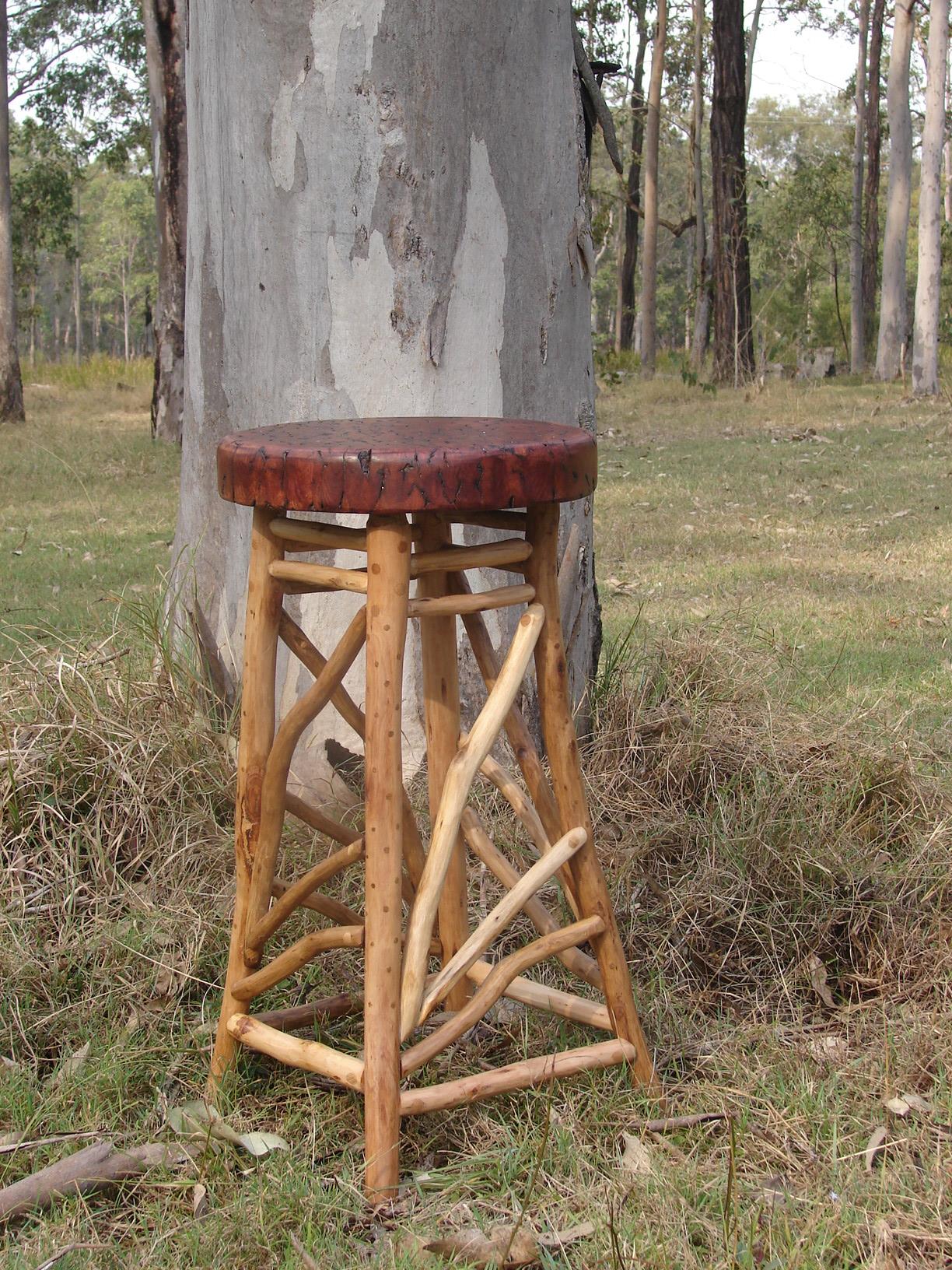 Stools australian bush furniture for Bush furniture