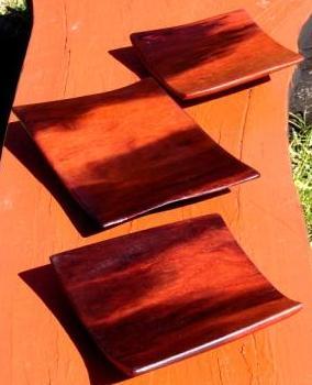 Wabi-sabi inspired Fire plate