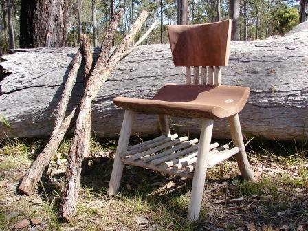 Red Ironbark and Gum Stick Chair