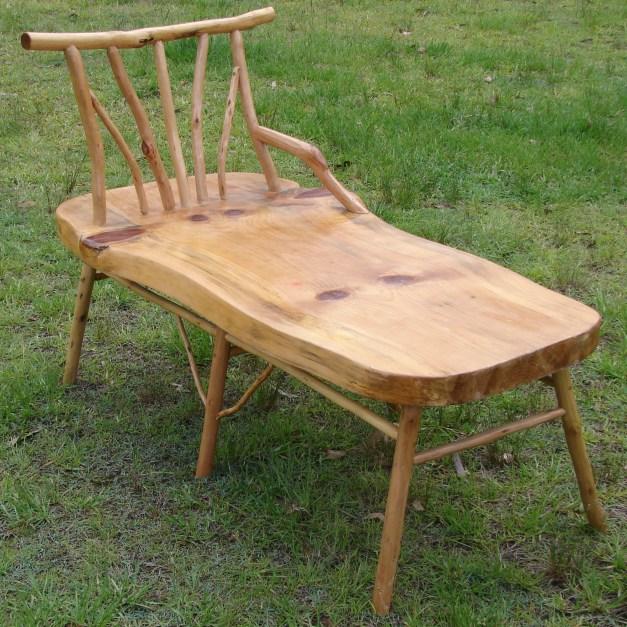 Australian bush furniture goannawood stick furniture for Stick furniture plans