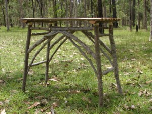 Red Ash Stick Table