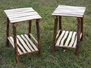 Willow and Gum Stick Tables