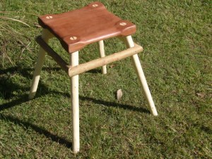 Red Gum and Red Ash Studio Chair 2