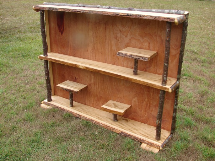 Camphor and Red Ash Stick Bench