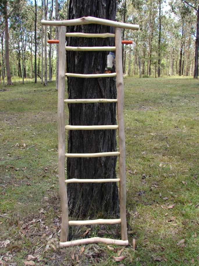 Ironbark and Red gum Stick Rack