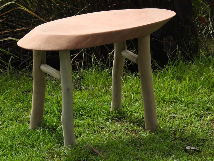 Grey Ironbark and Red gum Stick Coffe Table or Bench Seat